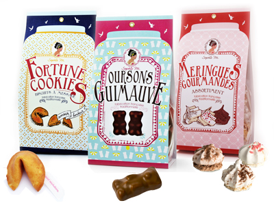 sachets oursons fortune cookies meringues